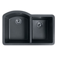 Swanstone QUDB-3322 Granite Undermount Double Bowl