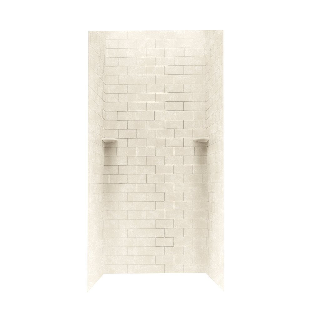 Swanstone Stmk72 3636 Shower Subway Tile Wall Kit 36 Quot X 36