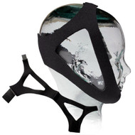 Sunset Adjustable Chin Strap - Black Neoprene -  Large
