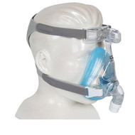Philips Respironics Amara Full Face Mask Gel  With Headgear