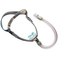 Philips Respironics Nuance Fabric Frame Nasal Pillows CPAP Mask With S,M,L Pillows included With Headgear