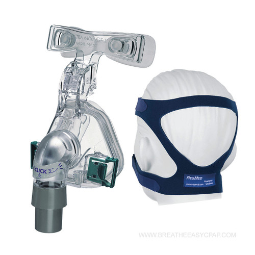 It's true that the Ultra Mirage II has some big shoes to fill as the descendant of the successful Ultra Mirage nasal mask, but one glance at the Ultra Mirage's cutting-edge features quickly distinguishes it as more than just a follow-up act.  This mask is a true multi-tasker, providing patients with efficient therapy and supreme comfort.  Features  Stable Foundation Airtight Dual-Cushion Seal Tubing for Convenience, Not Confinement Quiet Exhaust Port for Peaceful Slumbers