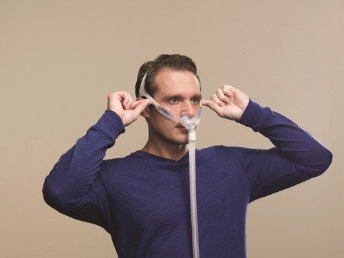 Philips Respironics Nuance Pro Gel Frame Nasal Pillows Mask Without Headgear