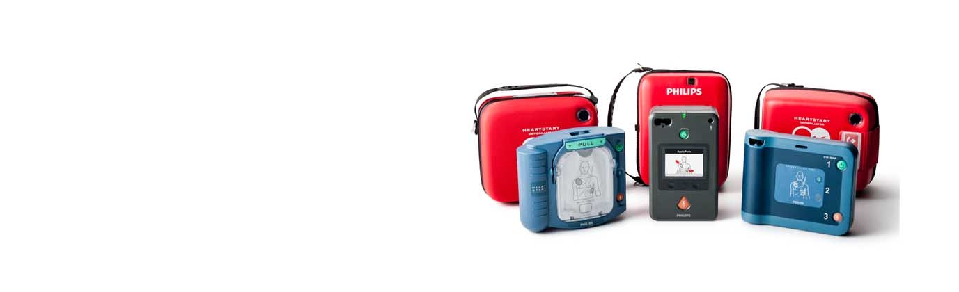 Philips AEDs #1 Worldwide, easy to Use