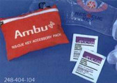 Ambu First Aid Pouch with Gloves and Wipes (248404104)
