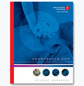 American Heart Association Heartsaver CPR book