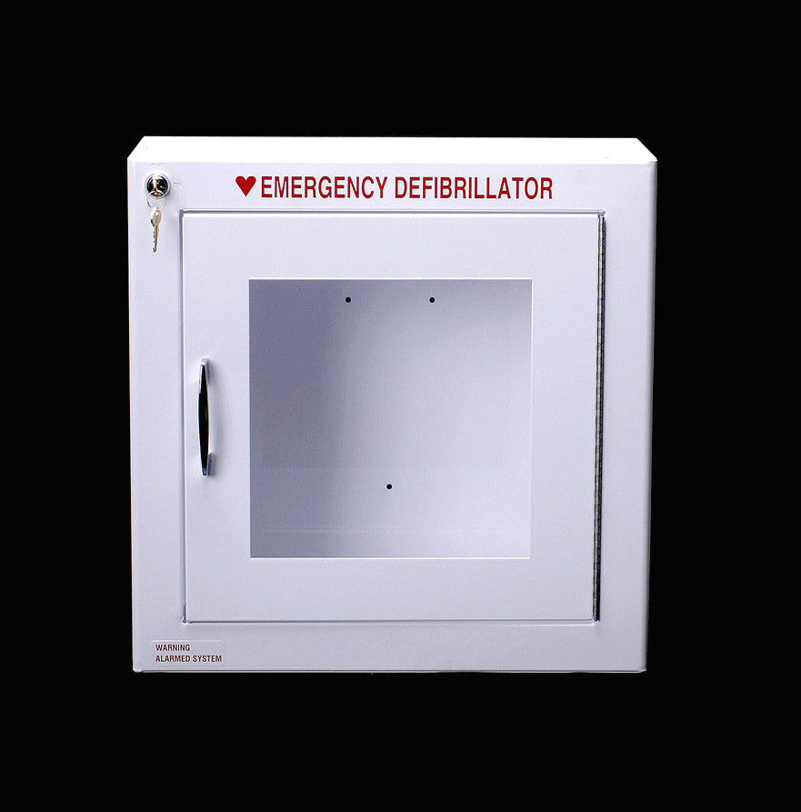 Deep Aed Wall Cabinet With Alarm