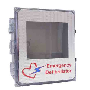Outdoor Waterproof AED Wall Cabinet with Alarm