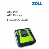 Zoll AED Pro Replacement Operator Guide