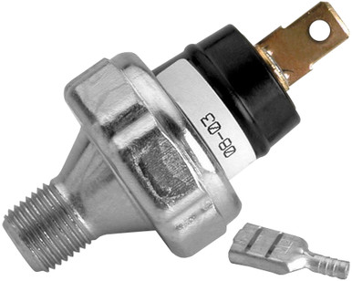 """AutoMeter Pressure Switch, 18 PSI, 1/8"""" NPTF Male, For Pro-Lite Warning Light"""