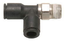 """Air Fitting 1/4"""" Tube Tee to 1/8"""" NPT"""