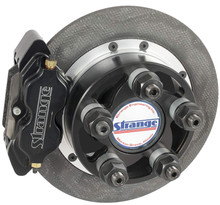 "Strange Engineering C17084WC Sportsman Carbon Rear Brake Kit for Early Big Ford Ends, 4-3/4"" BC, 2.332"" Offset"