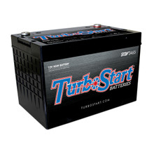 "TurboStart S12V3465 12 Volt AGM Race Battery, 10.30"" L x 6.75"" W x 7.25"" H"