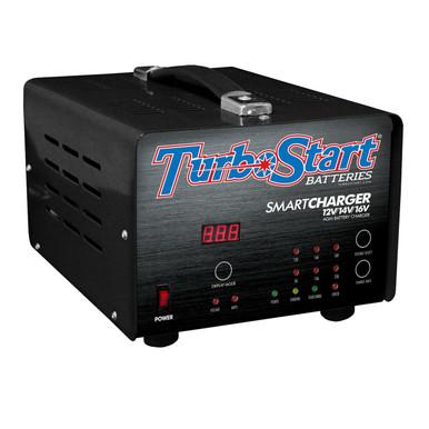 TurboStart CHG25A 110V Multi-Stage 12V/14V/16V Charger