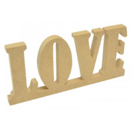 Kaiser Decor Standing Wooden Word - Love