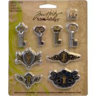 Locket Keys - Tim Holtz - Idea-ology Collection