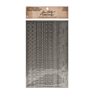 Industrious Stickers - Borders  - Tim Holtz Idea-ology Collection