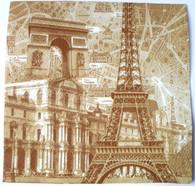 Paper Collage Napkins: Paris #1