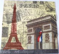 Paper Collage Napkins: Paris #2