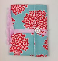 Fabric Art Journal: Flower Bouquet, front view