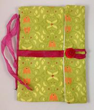 Fabric Art Journal: De-Vine Tulips  front view