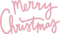 Kaisercraft Decorative Die Words- Merry Christmas