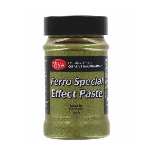 Viva Decor - Ferro Special Effect Paste - Golden Green (SD30149)
