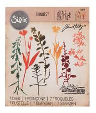 Wildflowers #2 - Tim Holtz /Sizzix Thinlits Die Set (SD661808)
