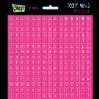Glitz Design- Teeny Alpha - Pink Block (SDC2815)