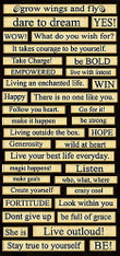 Monarch Collection Chipboard Stickers - Happenings - Creative Imaginations - (SDSOC8074)