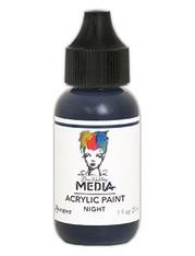 Ranger/ Dina Wakley Media Heavy Body Acrylic Paint 29ml (1 fl.oz)- Night (SDMDQ54054)