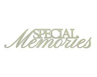 Special Memories -Chipboard (1pc)
