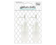20ml Ultra Fine Applicator Bottles - with rustproof precision tip and cover (2pc)