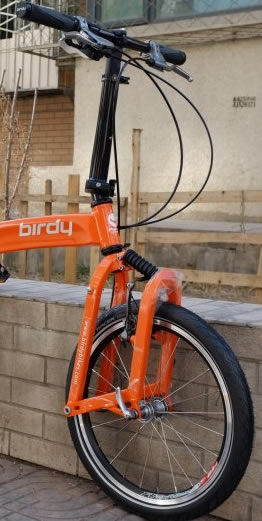 Birdy front fork