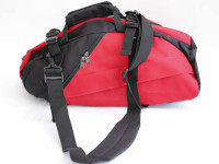 Red Rackpack with Backpack Straps