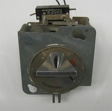 * Dryer 110V Greenwald Round Faced  ¢25 Coin Meter (drop) 1 switch Huebsch