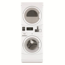 Whirlpool Coin-Op Stack Washer/DryerCGT8000XQ