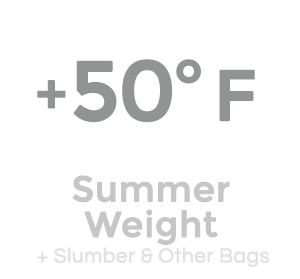+50 Degree Sleeping Bags by Wiggys