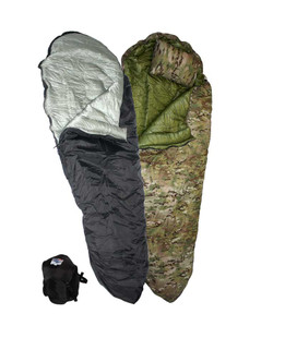 Antarctic (Boat Foot) › Mummy Style Sleeping Bag