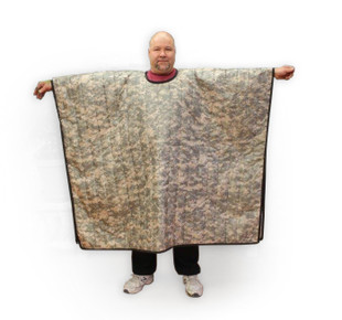 Poncho Liner with Head Opening