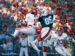 Iron Bowl 1981 - Alabama Football vs. Auburn