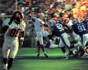 The Gamebreaker - Collegiate Classic 8x10 - Alabama Football vs. Auburn 2001