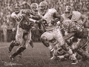 The Washout - Pencil Drawing