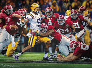 The Shutout - Canvas Editions - Alabama Football 2011 National Champions