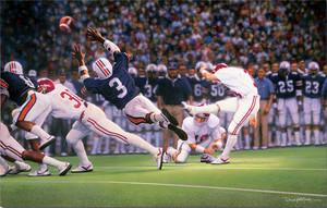 The Kick - Collegiate Classic 8x10