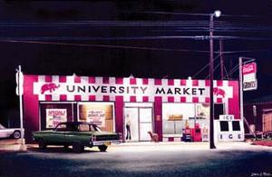 """""""University Market"""" by Daniel A. Moore"""