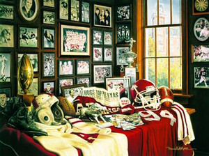 """Razorback Legacy"" by Daniel A. Moore 100 years of Razorback football."