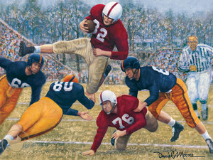 Iron Bowl 1950 - Alabama Football vs. Auburn