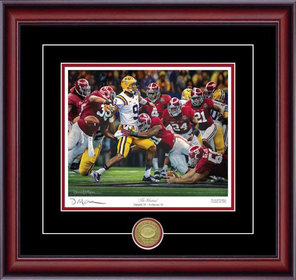 The Shutout - Collegiate Classic 8x10 - Alabama Football 2011 National Champions