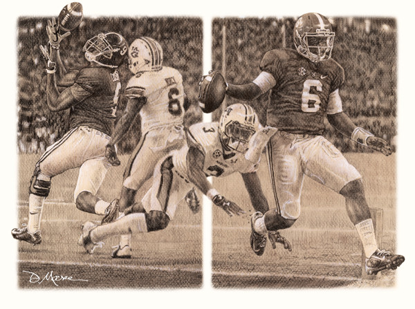 The Game Changers - Pencil Drawing